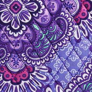 Handle and Tote Bags: Lilac Tapestry Vera Bradley Signature Tote 2.0