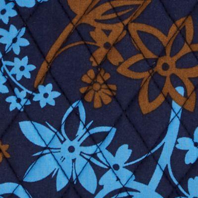 Cross Body Bags: Java Floral Vera Bradley Signature Triple Zip Hipster Crossbody