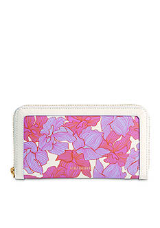 Vera Bradley Leather Wildwood Georgia Wallet