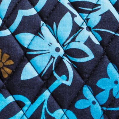 Handbags & Accessories: Vera Bradley Designer Handbags: Java Floral Vera Bradley Slim Saddle Bag