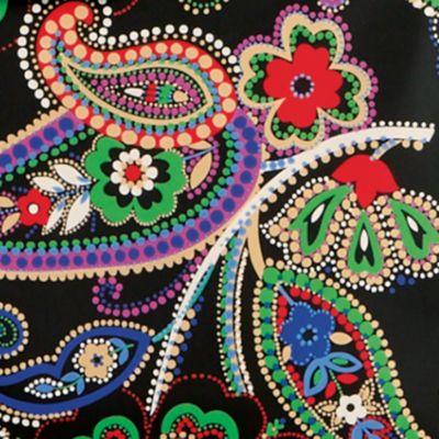 Handbags & Accessories: Vera Bradley Designer Handbags: Kiev Paisley Vera Bradley Preppy Poly Zip Top Tote