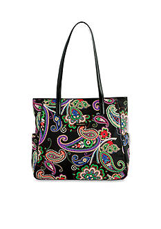 Vera Bradley Preppy Poly Zip Top Tote