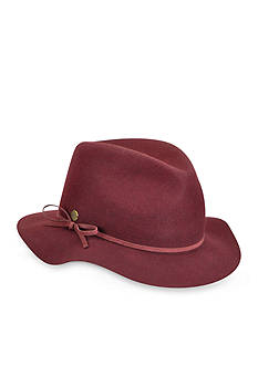 Karen Kane Raw Edge Fedora With Band