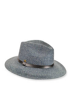 Karen Kane Tweed Braid Fedora Hat
