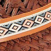 Handbags & Accessories: Karen Kane Accessories: Cocoa Karen Kane Wide Brim Raffia Floppy Hat