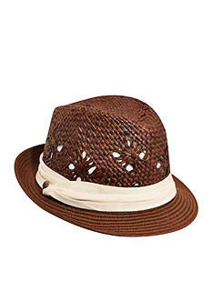 Karen Kane Fedora with Pug Band Hat