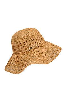Karen Kane Raffia Packable Floppy Hat