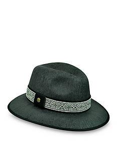 Karen Kane Jacquard Band Fedora Hat