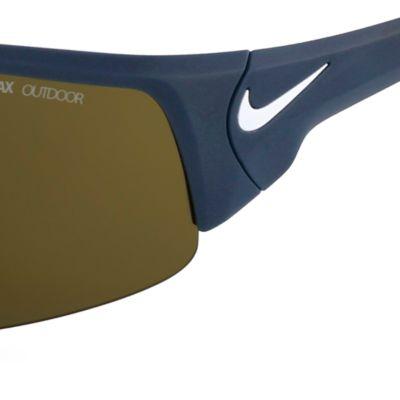 Nike: Matte Black/Tan Nike Skylon Ace XV Magnet Sunglasses