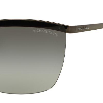 Handbags & Accessories: Michael Kors Accessories: Grey Michael Kors Paphos Shield Sunglasses