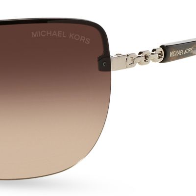Fashion Sunglasses: Gradient Smoke Michael Kors Sabina I Sunglasses