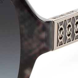 Handbags & Accessories: Michael Kors Accessories: Gray Michael Kors Cuiaba Sunglasses