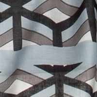 Clothing Accessories: Oblong: Grey/Black Urban Originals™ Cubes Scarf