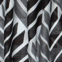 Clothing Accessories: Oblong: White/Blk/Grey Urban Originals™ Arrow Scarf