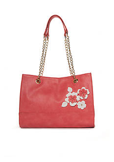 Kim Rogers Double Handle Flower Tote