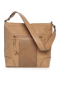 Kim Rogers Perforated Shoulder Bag