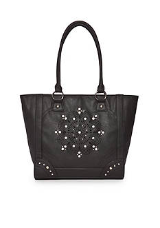 Kim Rogers Shopper With Flower And Bling