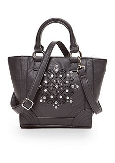 Kim Rogers Mini Shopper With Perforated Flower