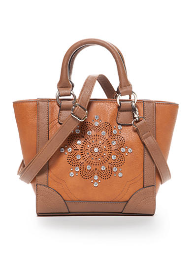 Kim Rogers® Mini Shopper With Perforated Flower