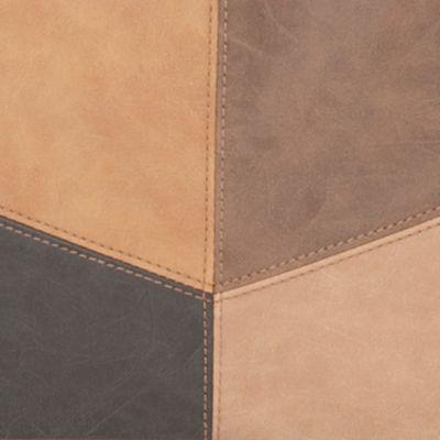 Shoulder Bags: Tan/Khaki New Directions Patchwork Hobo Shoulder Bag