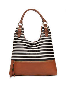 New Directions Patchwork Hobo Bag