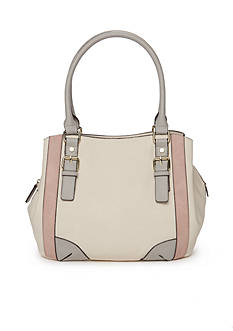 New Directions Color Block Shoulder Bag