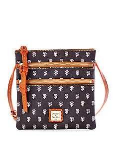 Dooney & Bourke Giants Triple Zip