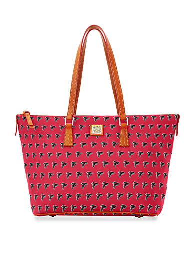 Dooney & Bourke Falcons Zip Top Shopper Bag