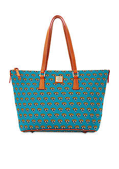 Dooney & Bourke Jaguars Zip Top Shopper Bag