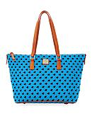 Dooney & Bourke Panthers Zip Top Shopper Bag