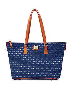 Dooney & Bourke Seahawks Zip Top Shopper Bag