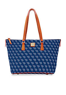 Dooney & Bourke Titans Zip Top Shopper Bag