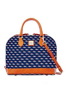 Dooney & Bourke Broncos Zip Satchel Bag
