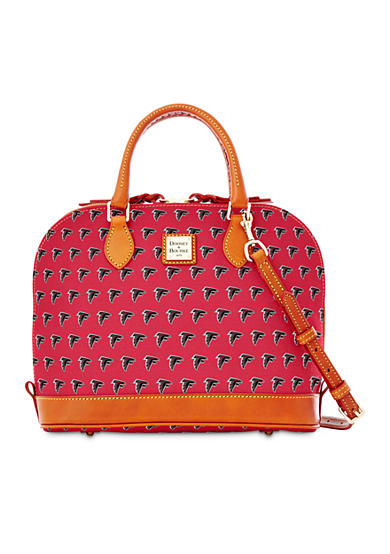 Dooney & Bourke Falcons Zip Zip Satchel Bag