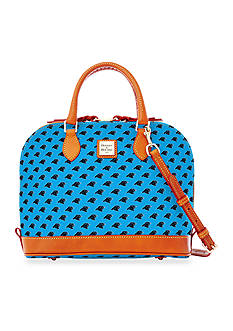 Dooney & Bourke Panthers Zip Satchel Bag