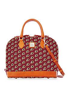 Dooney & Bourke Redskins Zip Satchel Bag