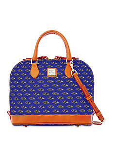 Dooney & Bourke Ravens Zip Satchel Bag