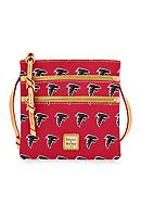 Dooney & Bourke Falcons Triple Zip Wristlet