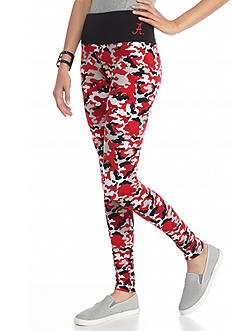 LoudMouth University - Alabama Crimson Tide Camo Leggings