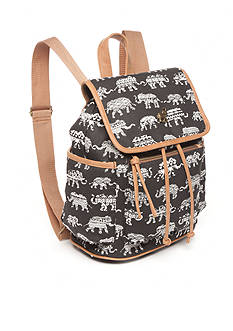 Red Camel® Elephant Print Backpack