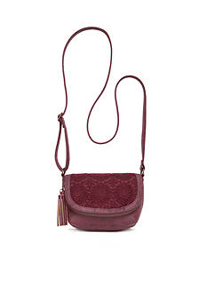 Red Camel® Crochet Flap Crossbody