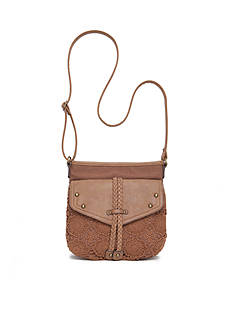 Red Camel® Crochet Top Zip Crossbody