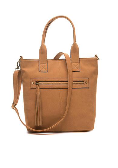 Red Camel® Tote With Crossbody Strap