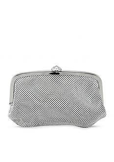La Regale Mesh Frame Evening Bag