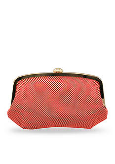 La Regale Mesh Frame Evening Bag
