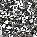 Trends - the EDIT: Sparkle & Shine: Gunmetal La Regale Pyramid Flap Clutch