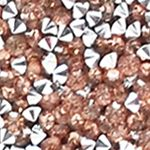 Evening Bags: Rosegold La Regale Pyramid Flap Clutch