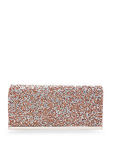 La Regale Pyramid Flap Clutch