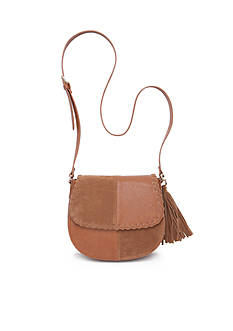 Red Camel Two-Tone Saddle Bag