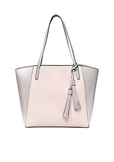 New Directions® Colorblock Tassel Tote